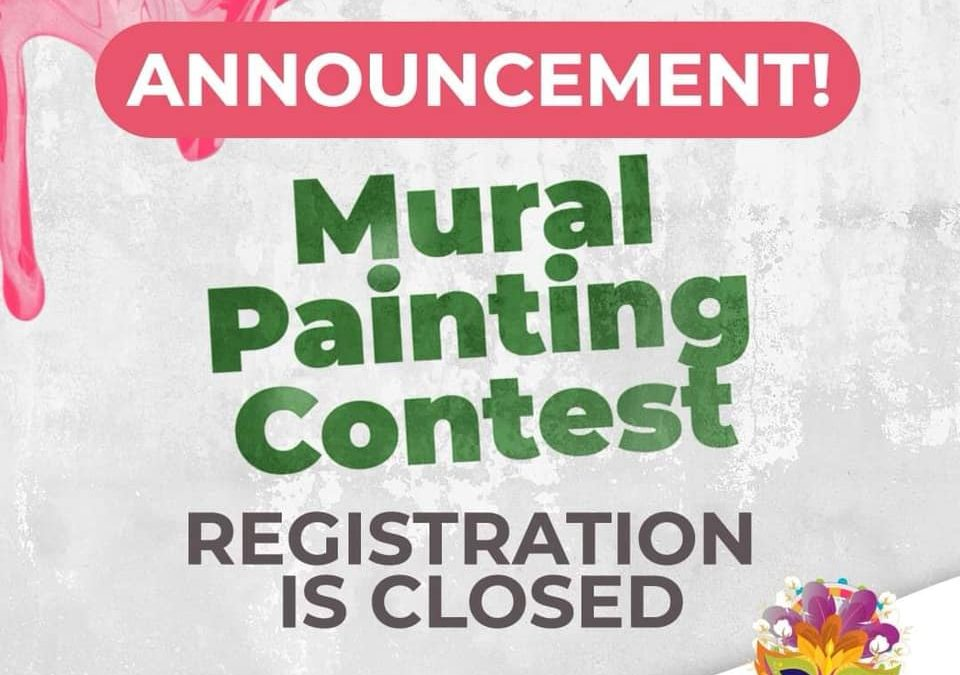 Mural Painting Contest Registration is CLOSED!